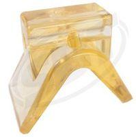 Bow Stop Polymer 1/ 2D Shaft 1.5x3 Base 3.5Hx4L